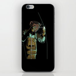 Welder Funny Mongkey Happy iPhone Skin