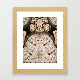 Tic Toc Framed Art Print
