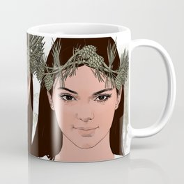 lady of the forest Coffee Mug