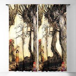 """The Trees and the Axe"" by Arthur Rackham Blackout Curtain"