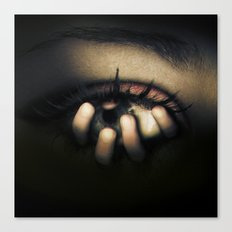 Out of Mein Eye Canvas Print