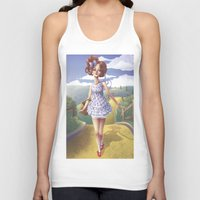 dorothy Tank Tops featuring Dorothy by FReMO