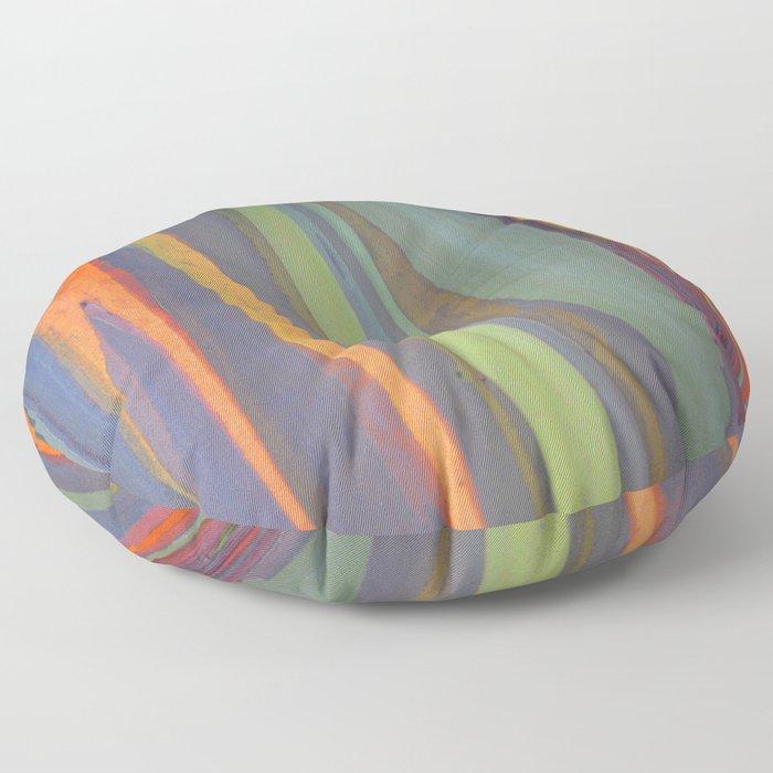 Rainbow Eucalyptus Magic Floor Pillow