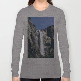 Bridal Veil Falls at Yosemite National Park Long Sleeve T-shirt