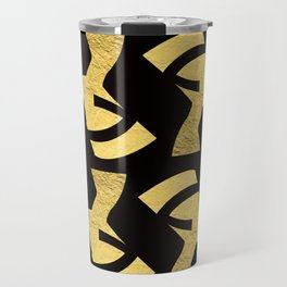 -BEQUEEN IN GOLD Travel Mug