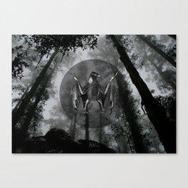 THE NIGHTFALL Canvas Print