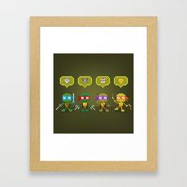 Challengers Framed Art Print