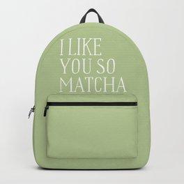 green matcha Backpack