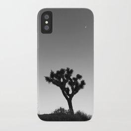 JOSHUA TREE XVIII (B+W) iPhone Case