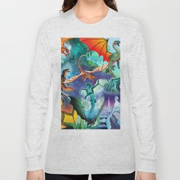 Wings Of Fire Character Long Sleeve T-shirt