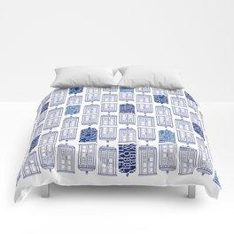 Tardis Tardis Tardis Comforters