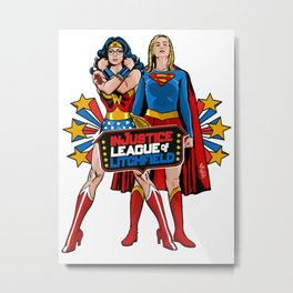 InJustice League of Litchfield  Metal Print