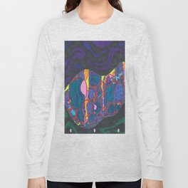 L.A., at night, from a distance Long Sleeve T-shirt