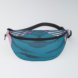 Cool Cat with glasses Fanny Pack