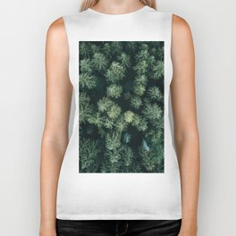 Forest from above - Landscape Photography Biker Tank