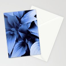 Blue Foliage Stationery Cards