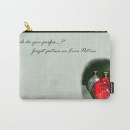 LovePotion or ForgetPotion  Carry-All Pouch