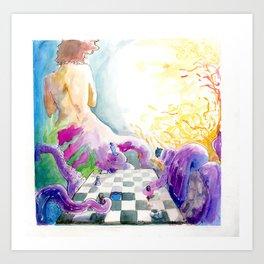 Checkmate... Art Print