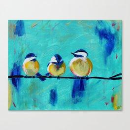 Tweet, Tweet Canvas Print