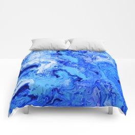 Blue Smoke Comforters