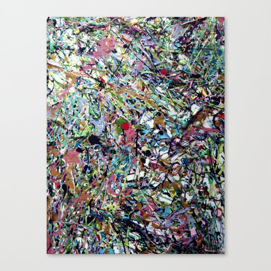 After Pollock Canvas Print