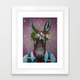 Bottom Framed Art Print