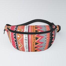 Tribal geometry Fanny Pack