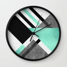 Foldings Wall Clock