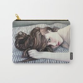 Striped Sheets Carry-All Pouch