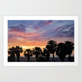 California Colors Art Print