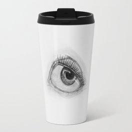 Cartoon Eye Travel Mug