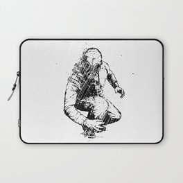 Trouble Will Find You, Always (Black/White Version) Laptop Sleeve