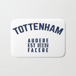 Tottenham - Spurs - Hotspurs - Premier League - Champions league - Soccer T-Shirt Bath Mat