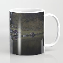River that vanishes (Fjord) Coffee Mug
