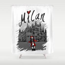 Milan - Travel Serie Shower Curtain