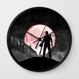 Rudeboy Ash Wall Clock