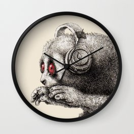 DJ SLOW LORIS Wall Clock