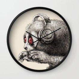 DJ SLOW LORIS Wall Clock