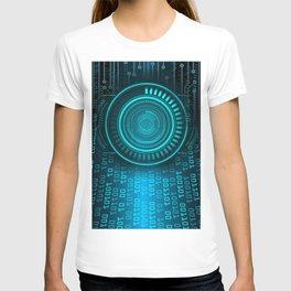 Futurist Matrix | Digital Art T-shirt