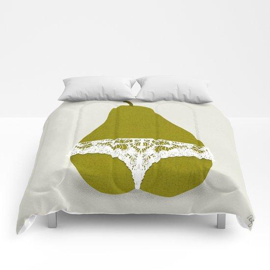 Pear Panties Comforters