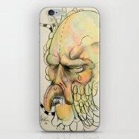 birdman iPhone & iPod Skins featuring BIRDMAN by Jonathan Idler