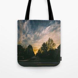 Whispy Skies Tote Bag
