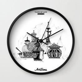 Taste of Life Wall Clock