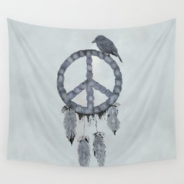 A dreamcatcher for peace Wall Tapestry