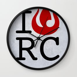 I love RC Wall Clock