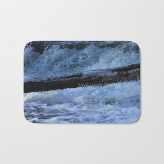 A Colder Winter Bath Mat