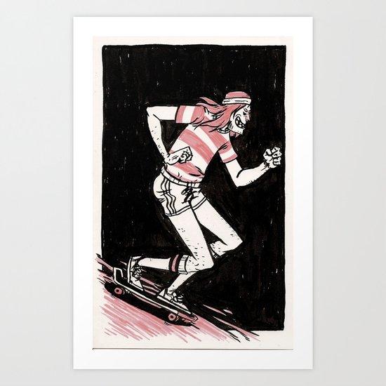 """Pebbles."" pg. six Art Print"