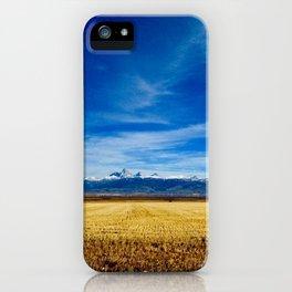 Teton Landscape iPhone Case