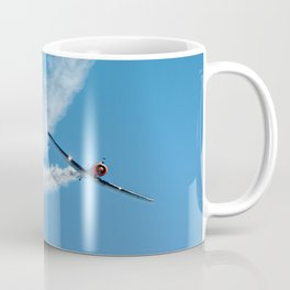 Air show with old military aircraft Coffee Mug