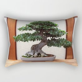 Bonsai Tree Rectangular Pillow